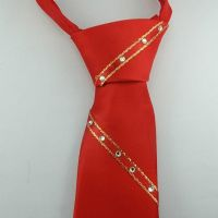 ShowQuest Childs Crystal Tie - Available in Red, White and Navy